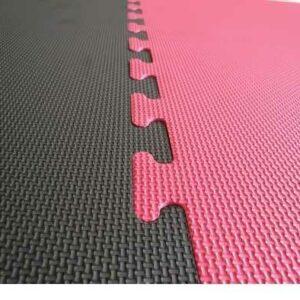 20mm red black jigsaw mats Ireland