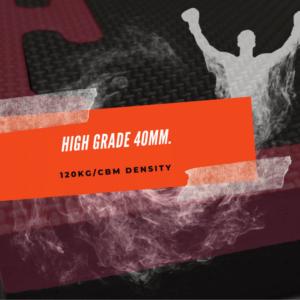 High Grade 40mm Jigsaw mats