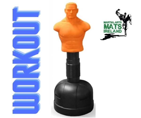 Freestanding punch bag man