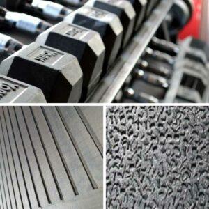 Ameobic Weight training mats