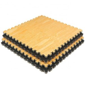 Wood Grain EVA Mats