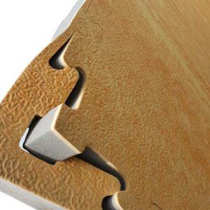 Wood effect mats